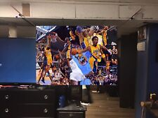 HUGE 44x31 Kobe Bryant vinyl banner POSTER Los Angeles Lakers Lebron James ART