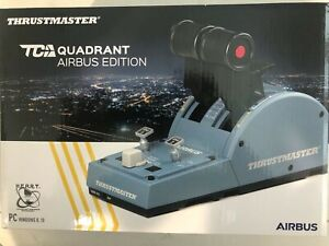 BRAND NEW IN HAND THRUSTMASTER TCA QUADRANT AIRBUS EDITION!