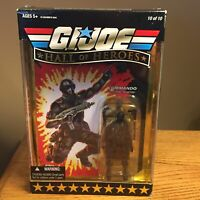 G.I. Joe Hall of Heroes Snake Eyes Commando Figure & Accessories 10/10 Collector