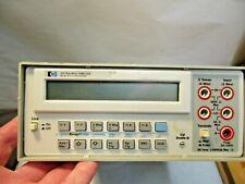 Hewlett Packard Agilent HP 3478A Digital Multimeter that is in good shape - NR