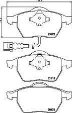 Mintex MDB2041 C2C22316/M Rear Brake Pad Set Jaguar XJ8 2003