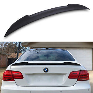 M3 STYLE FRP REAR BOOT LID TRUNK LIP SPOILER WING FOR BMW 3 SERIES E92 COUPE