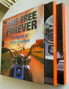 1998 1st RIDE FREE FOREVER THE LEGEND OF HARLEY-DAVIDSON 2 massive volumes ZIERL