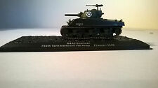M4A3 SHERMAN 756TH TANK BATTALION 5TH ARMY FRANCE 1945 1:72 DIECAST AND PLASTIC