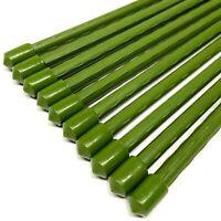 10er Set Pflanzstäbe Rankhilfe 120cm | Pflanzenstäbe Rankstäbe | Pflanzenstütze