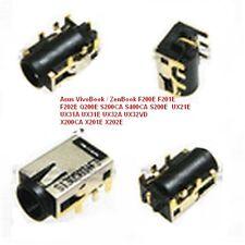 Connecteur Jack AC/DC Asus F200CA/F200MA/R200E/R201E/ X200CA/X200LA/X200MA et +