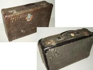 1 Stück auswählen: alter Koffer Holzkoffer Reisekoffer