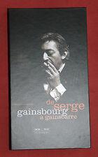 DE SERGE GAINSBOURG A GAINSBARRE COFFRET LONGBOX 3 CD  ETAT NEUF