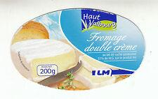 Etiquette de Fromage   Haut Malbourg Double crème   N°122
