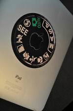 CAMERA DIAL (SEE) Decal for iPad - vinyl sticker