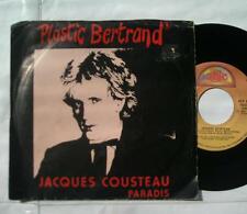 *PLASTIC BERTRAND Jacques Cousteau FRENCH POP CANADA P/S 1981 Attic 45