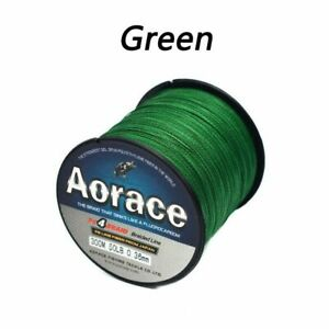 Fishing Line PE Braided 4 Strand Multifilament Floating Carp Reservoir Pond Wire