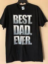 Best Dad Ever Shirt NWOT For Men Size M Black Short Sleeve