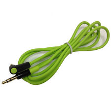 Hot Green Replacement 3.5mm Audio AUX Cable Cord Lead for BEATS STUDIO SOLO PRO