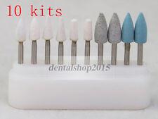 100pcs Dental FG burs kit Stones and Silicon Burs for Composite Finish Polish