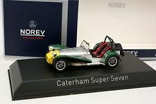 Norev 1/43 - Caterham Super 7 Grise Verte