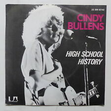 CINDY BULLENS High school history 2S008 62143