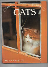 Vintage Collectable Nature Series Cats Peggy Wratten Hardback Book