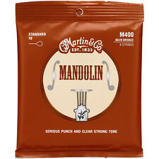 New Martin M400 80/20 Bronze Mandolin Strings, Light