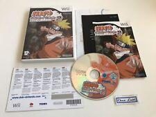 Naruto Clash Of Ninja 2 Revolution - Nintendo Wii - PAL FR - Avec Notice