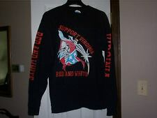 Hells Angels Long Sleeve tee T shirt Support Red & White Virginia Sz. XL