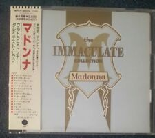 MADONNA THE IMMACULATE COLLECTION JAPAN CD ALBUM OBI WPCP-4000