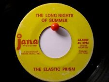 The Elastic Prism Jana 6969 Long Nights of Summer b/w Red Purple and Blue  Psych