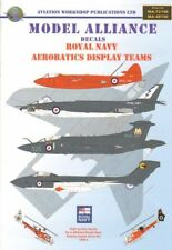 Modello ALLEANZA Decalcomanie 1/48 Royal Navy acrobatiche Display SQUADRE # 48196