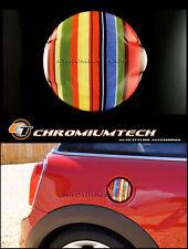 MK3 MINI COOPER S/SD JCW F55 F56 F57 Multi Colore Stripe Serbatoio Tappo Di Copertura