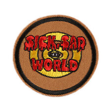 "Sick, Sad World Daria MTV STATION Embroidered Iron Sew On Patch 2.4""X2.4"""