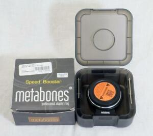 Metabones Nikon F to Micro 4/3 Mount T Speed Booster XL 0.64x- MUST SEE! (34121)