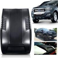 Kut Snake ABS Raptor Style Bonnet Scoop - Ford Ranger PX MK1 &2  BLACK