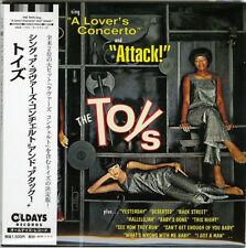 TOYS-SING A LOVER'S CONCERTO AND ATTACK!-JAPAN MINI LP CD BONUS TRACK C94