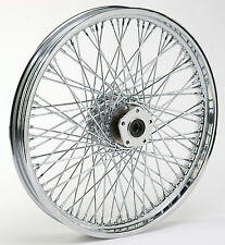 Chrome Ultima 80 Spoke Front 21 x 2.15 Wheel for Harley FXDWG 1984-1999