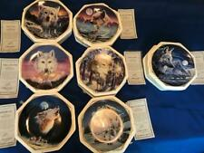 Hamilton Wolf Plates, Wilderness Spirit Collection, Plates priced separately