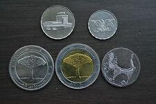 Yemen, Republic,  Set of  5 coins , 1; 5; 10; 20; 20 Rials UNC ASIA COIN MONEY