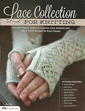 Lace Collection for Knitting Patterns Shawls Sweaters Simple Accessorie + NEW