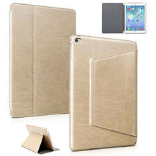Luxury Smart Cover für Apple iPad Air 2 Schutz Hülle Case Tasche Tablet gold