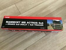 1:50 MAMMOET MB ACTROS 6x4 + Drake 2x8 + 4x8 Trailer Australia Road Train