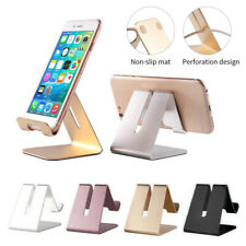 Cell Phone Tablet Desktop Stand Desk Holder Mount Cradle Aluminium Universal