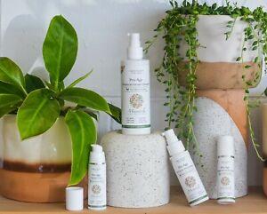 Mandala Skincare Pro-Age 4 piece gift set vegan / natural / premium GIFT WRAPPED