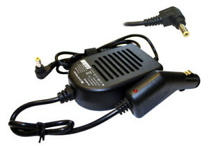Dell Latitude 120L Compatible Laptop Power DC Adapter Car Charger