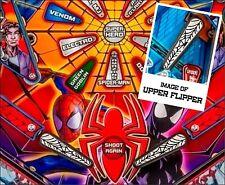 Web - Pinball Machine Flipper Bat Mod for Stern's Spiderman pinball (Set of 3)