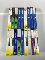 Lot Of 18 Pre-Recorded Mix Label T-120  VHS Tapes Sold As Used Blanks T8