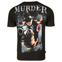 Extreme Hobby Men's Mafia Tee Shirt Black