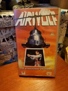 Airwolf The Stavograd Incident - RARE vhs