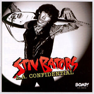 BATORS, STIV (DEAD BOYS)  L.A. Confidential -Unrel demos& studio..  LP