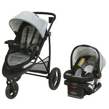 Graco Baby Modes 3 Essentials Travel System Stroller w/ Infant Car Seat Mullaly