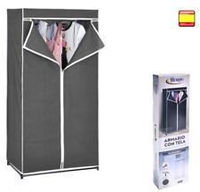Armoire En Tissu Penderie Etagère Protection Vêtements Closet 160x75x50cm Offre