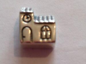 Genuine Authentic Danish Pandora Church Charm 790287